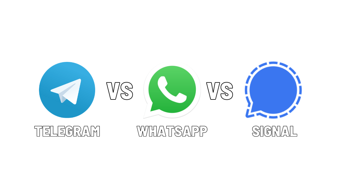 Telegram vs WhatsApp vs Signal