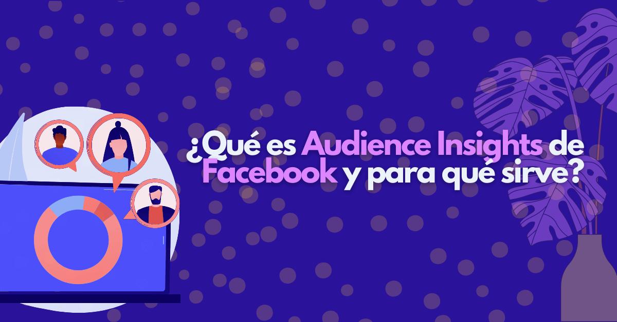 ¿Qué es Audience Insights de Facebook y para qué sirve?